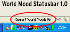World Mood Statusbar 1.0 for Firefox 1.5+